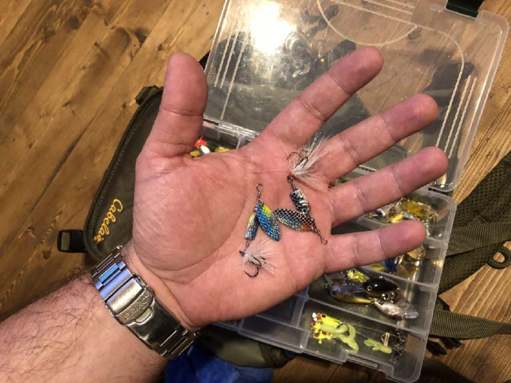 Вращалки Blue Fox Flash Spinner